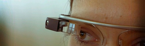 Detail of Google Glass